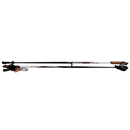 LEKI Flash Trigger 1 Länge 100 cm weiß-anthrazit-rot