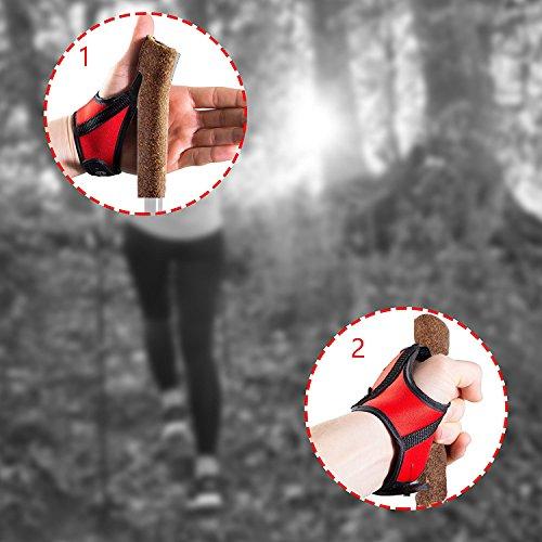 Nordic Walking Lady Edition Teleskop Stöcke Walking Sticks Wander Trekking + APP - 5