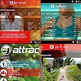 ATTRAC Nordic Walking/Trekking Stöcke Faltbar Verstellbar 37-130 cm mit CLICK & GO System Superleicht inkl. Fitness App - 8