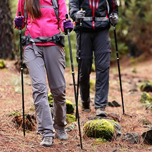 ATTRAC Nordic Walking Stöcke/Wanderstöcke *Partner-Paket* Classic und Lady Edition Teleskop Verstellbar Dämpfung inkl. App - 9