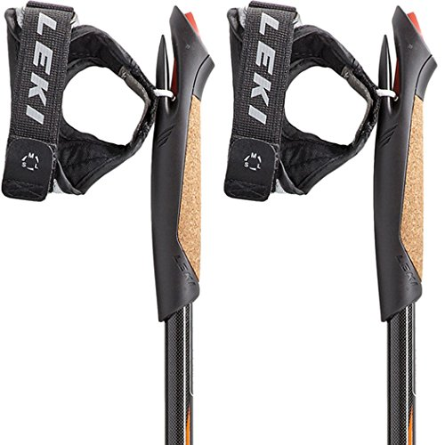 LEKI Nordic Walking Stock Smart Titanium, black, 105, 631-2523-105 - 4