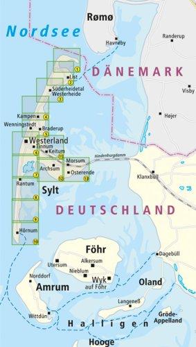 Sylt: Leporello Wanderkarte mit Ausflugszielen, Einkehr- & Freizeittipps und Nordic-Walking-Strecken, wetterfest, reissfest, abwischbar, GPS-genau. 1:25000 (Leporello Wanderkarte / LEP-WK) - 3